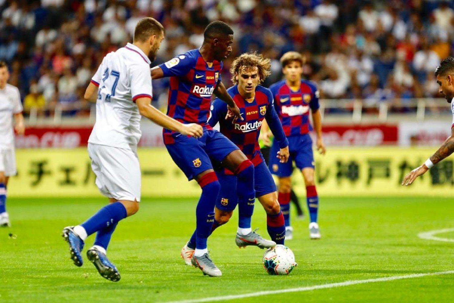 Griezmann Dembélé Barça Chelsea FC Barcelona