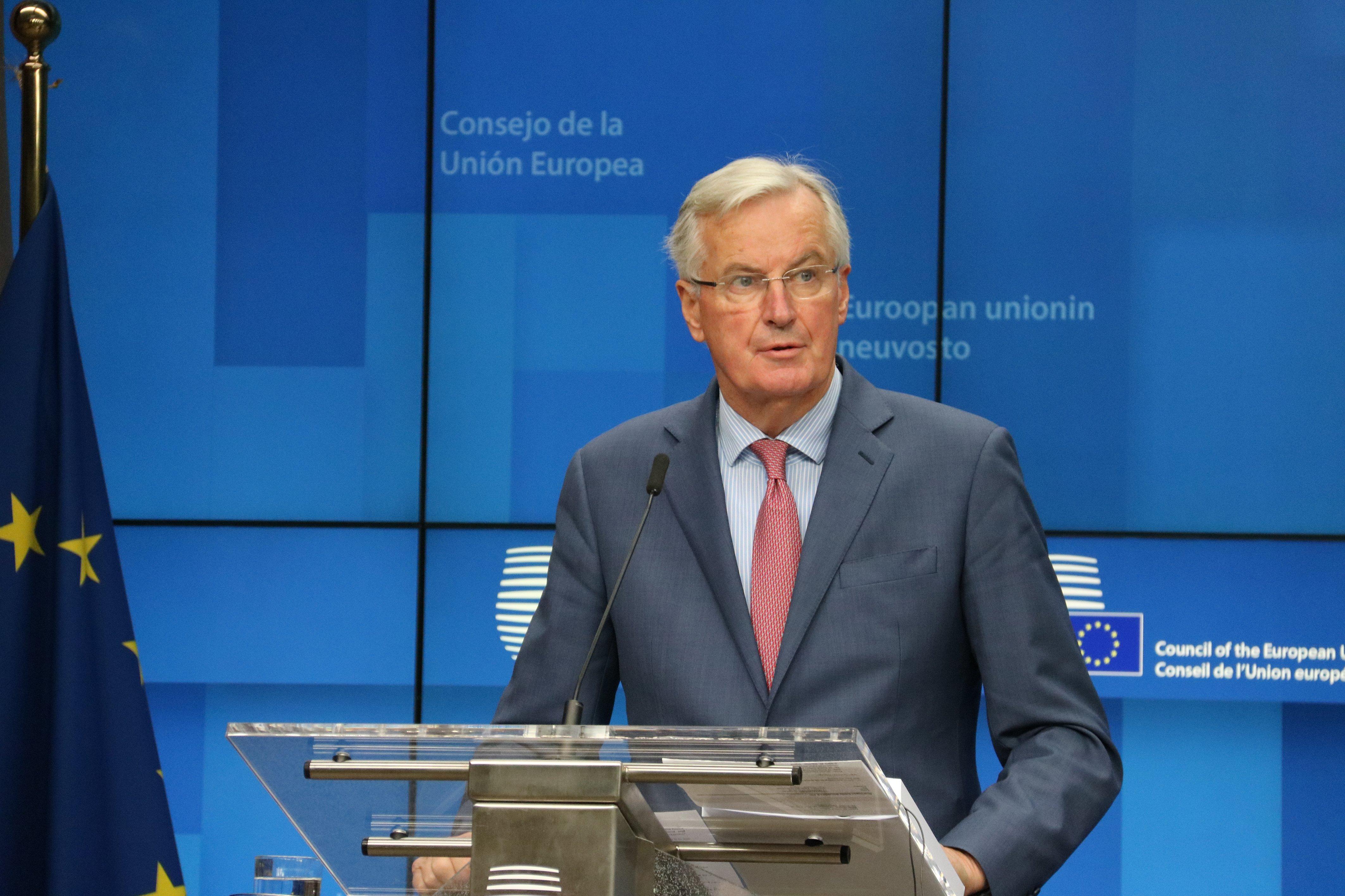 El cap negociador europeu del Brexit, Michel Barnier acn