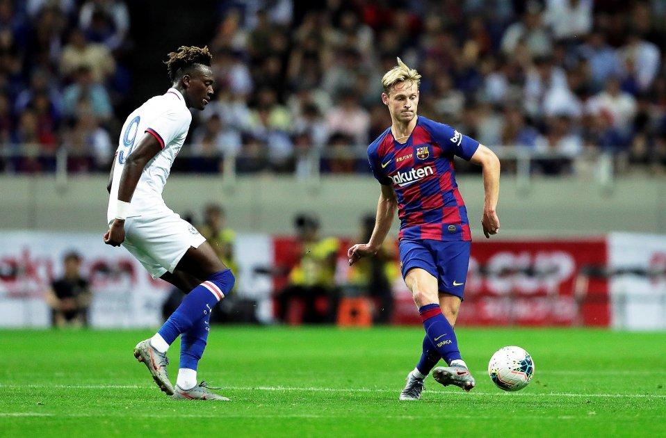 De Jong Barça Chelsea EFE