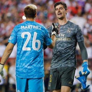 Courtois Martinez Reial Madrid Arsenal EFE