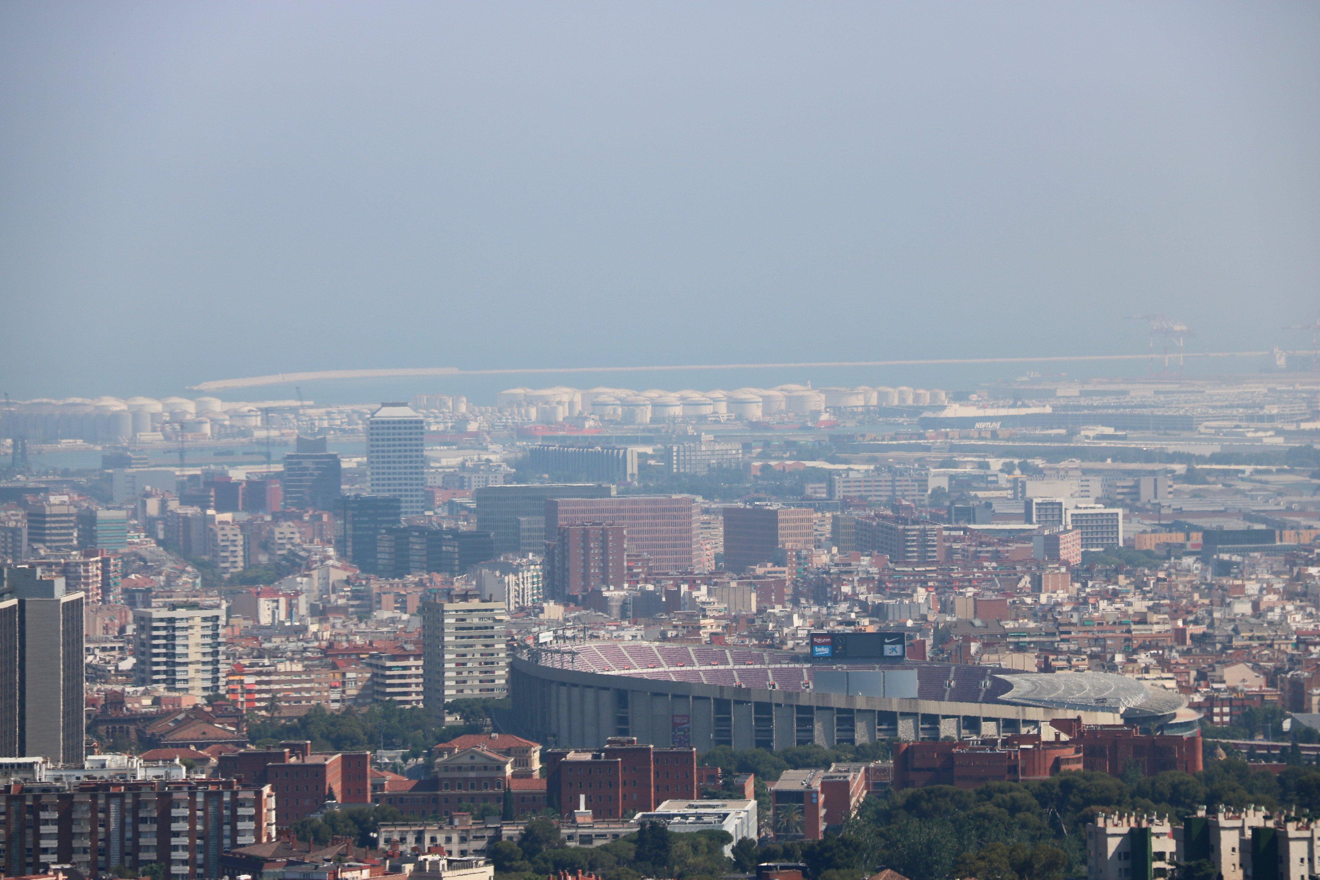 barcelona contaminació ACN