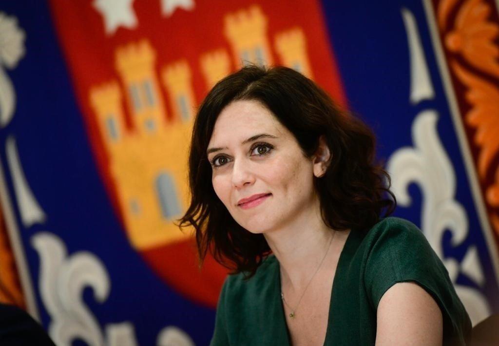La candidata del PP a la Comunidad de Madrid Isabel Díaz Ayuso en la Asamblea Europa Press