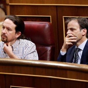 Pablo Iglesias i Jaume Asens investidura congreso EFE