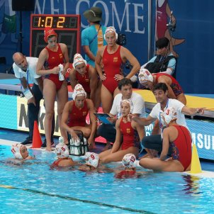 Selecció espanyola femenina Waterpolo EFE