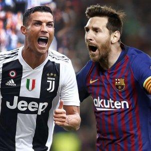 Cristiano Ronaldo Messi muntatge EFE