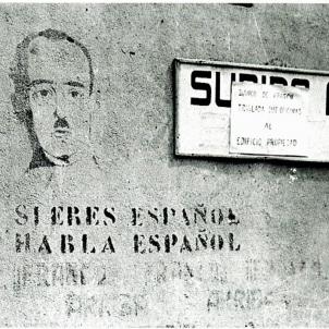 Propaganda doctrinària del regim franquista. Font Enciclopèdia
