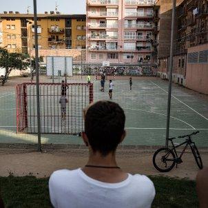 joves pista basquet atemptats Ripoll 2anys Ripoll - Carles Palacio