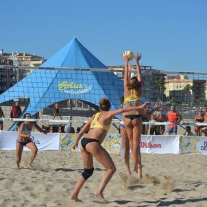 Vòlei platja Foto Federació Catalana de Voleibol