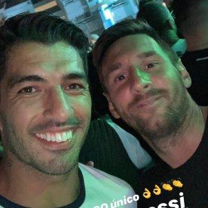 Luis Suárez Leo Messi @luissuarez9