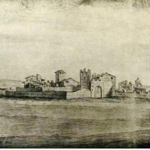 test 69 l edat de les ciutat catalanes aquarel la de mollerussa segle xvii obra de pier maria baldi font biblioteca nazionale di firenze