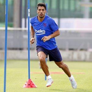 Luis Suárez entrenament Barça FC Barcelona