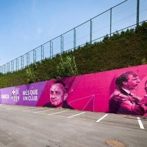 Mural Johan Cruyff Barça FC Barcelona