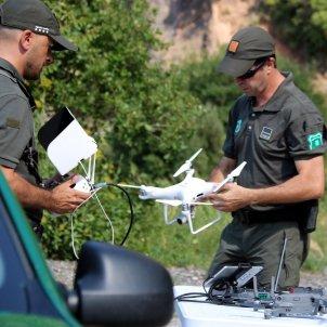 agents rurals dron Montserrat ACN