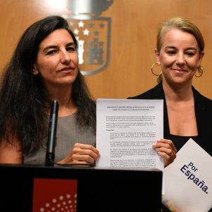 La portavoz de Vox en la Asamblea de Madrid, Rocío Monasterio EFE