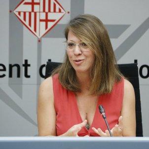 Janet Sanz tinent d'alcalde Barcelona ACN