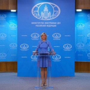 mariazakharova ministeri afers exteriors federació russa