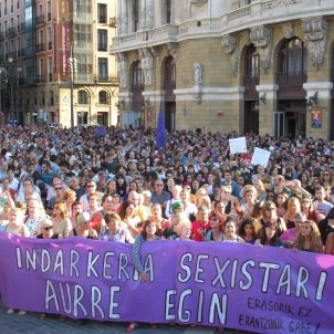 manifestacio bilbao violacio - europa press