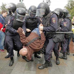 manifestacion liders opositors moscou russia - efe