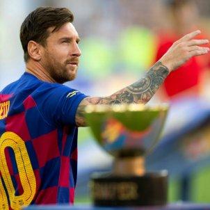 Leo Messi Gamper Barça EFE