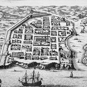 La Isabela. Plànol de Santo Domingo. Segle XVI