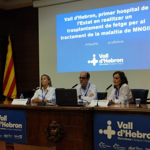 hospital vall d'hebron - europa press