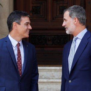 Pedro Sánchez Rei Felip VI EFE (2)