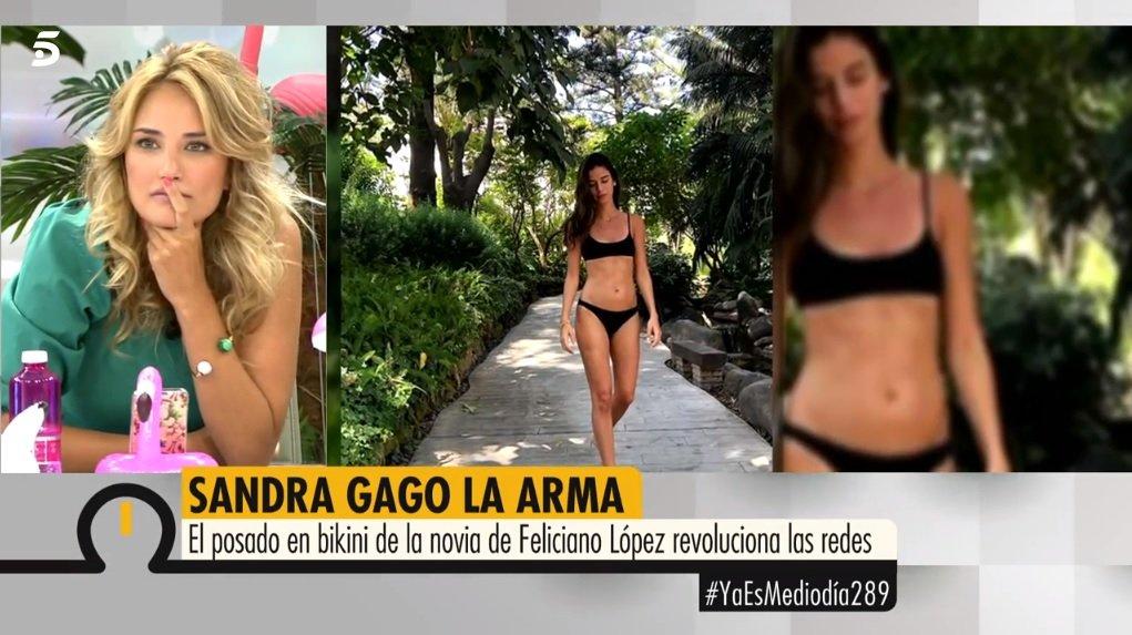 El Desnudo Integral De Alba Carrillo Que Telecinco Emite En Directo