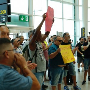 protesta treballadors trablisa aeroport prat vaga sergi alcazar (2)