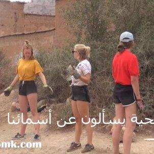 voluntàries belgues Maroc TV