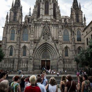 turisme turistes catedral barcelona recurs - Carles Palacio