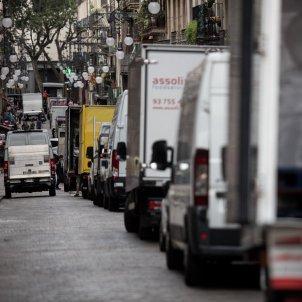 transportistes transport repartidors furgonetes recurs ciutat vella - Carles Palacio