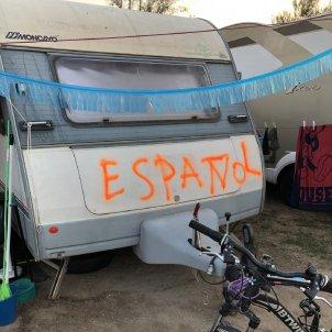 atac espanyolista caravana - @davidmari1714