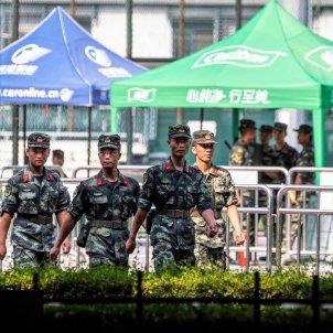 militars xina hong kong - efe