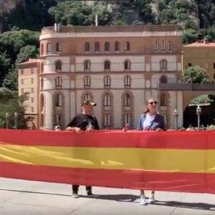 bandera espanyola montserrat - Sociedad Civil Videos