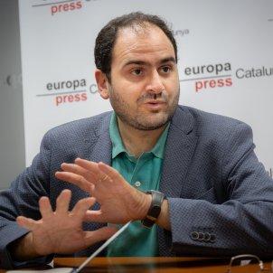EuropaPress 2303798 El presidente de Societat Civil Catalana (SCC) y es exdiputado del PP en el Parlament catalán Fernando Sánchez Costa durante una entrevista para Europa Press