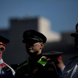 segon aniversari atemptats rambla barcelona policia local mossos d'esquadra policia nacional (bona qualitat) - Carles Palacio