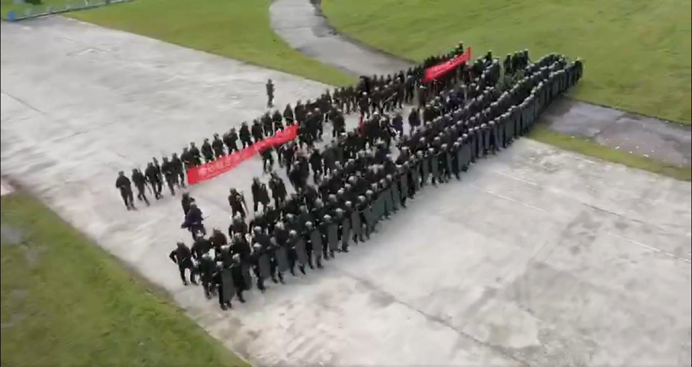exercicis militars xina hong kong - Global Times