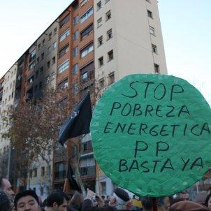 cartell Stop pobresa energètica Sant Roc ACN