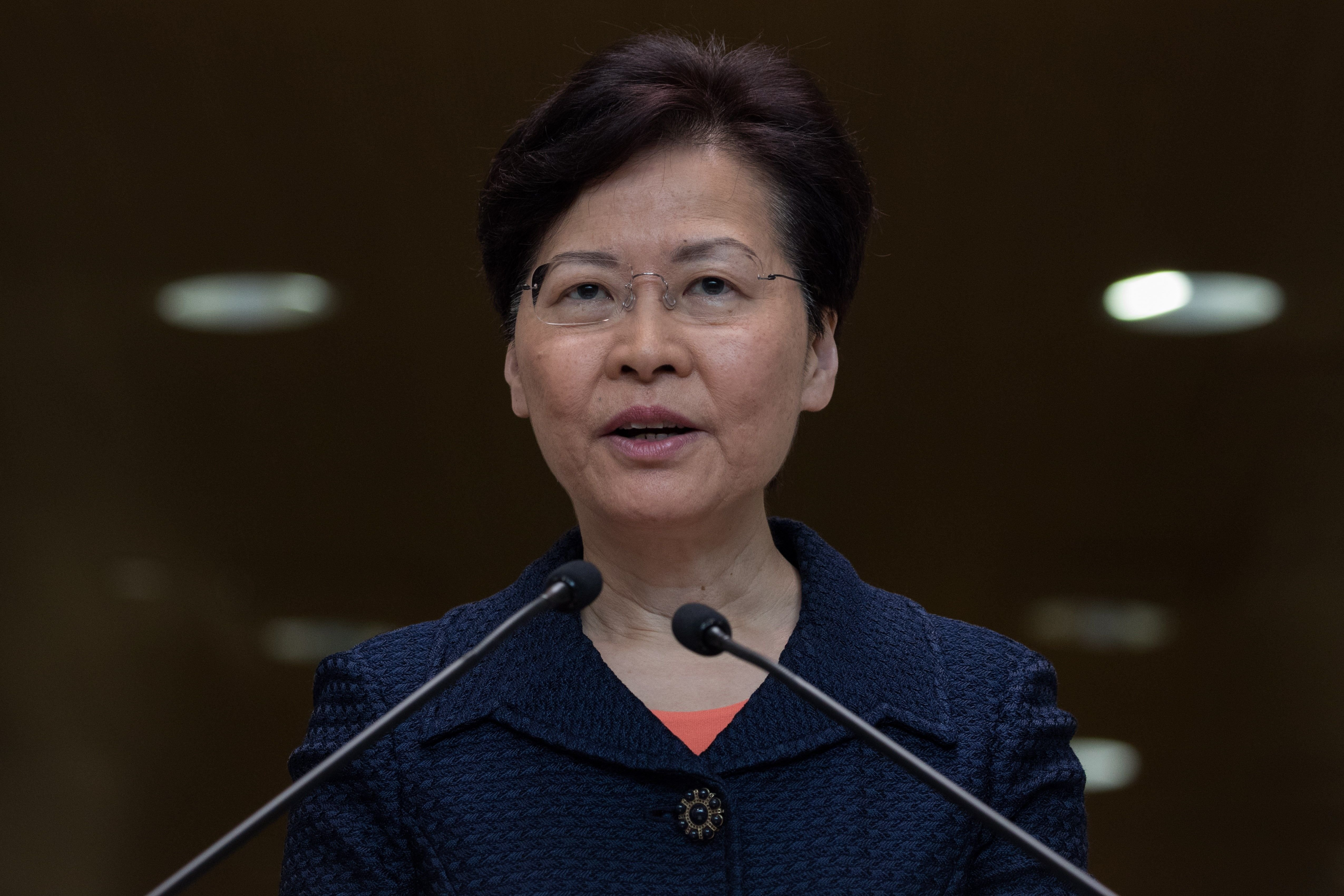 Carrie Lam Govern Hong Kong EFE