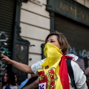 manifestacio espanyolista ultra hablamos español espanyolisme barcelona setembre 2018 - Carles Palacio
