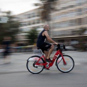 bicing bicicleta publica barcelona - Carles Palacio