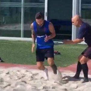 Messi entrenament Barca @otro