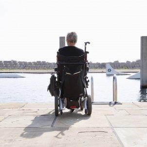 cadira de rodes aigua ACN