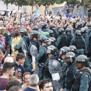 guàrdia civil sant cebria de vallalta referendum ACN