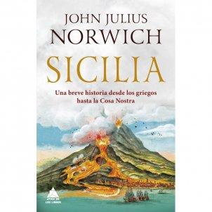 Portada del llibre 'Sicilia', de John Julius Norwich