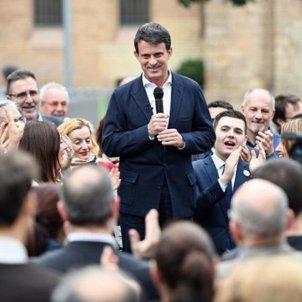Manuel Valls miting @manuelvallsbcn