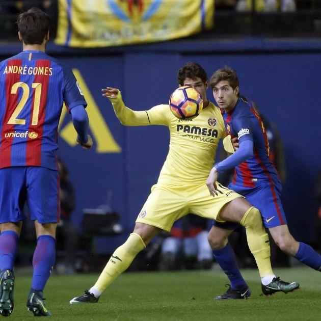 Barça Villarreal Sergi Roberto EFE