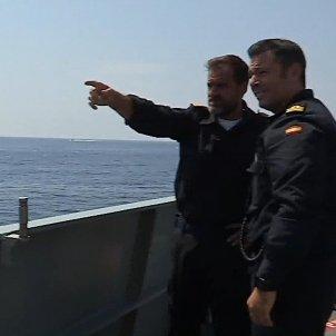 comandant Audaz Emilio Damià Marqués EFE