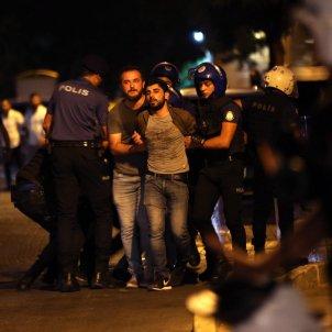 Turquia Kurdistan repressió aldarulls policia 20190820 (Efe)