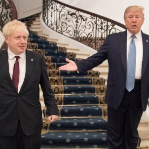 Boris Johnson Donald Trump - EFE